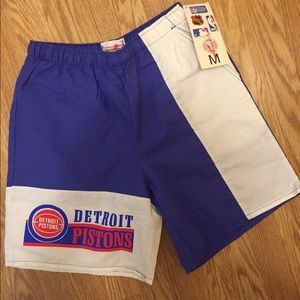 Other - Vintage Detroit Pistons shorts